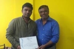 Packaged Drinking Water Plant Training-Certificate Distribution