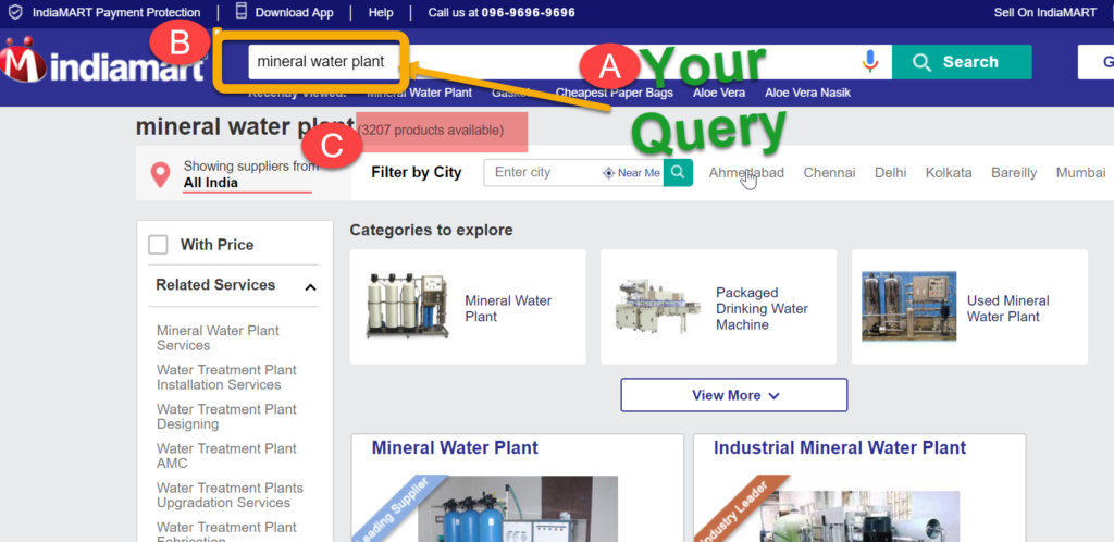 Mineral Water Plant Suppliers